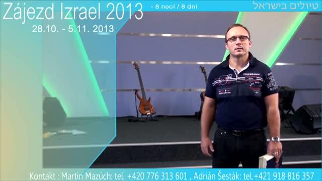 Pozvánka - Zájezd Izrael 2013