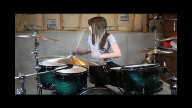 Emily - Hillsong United - Go (Drum Cover)