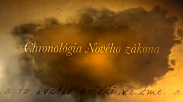 Chronológia NZ - 3 - Narodenie Ježiša Krista