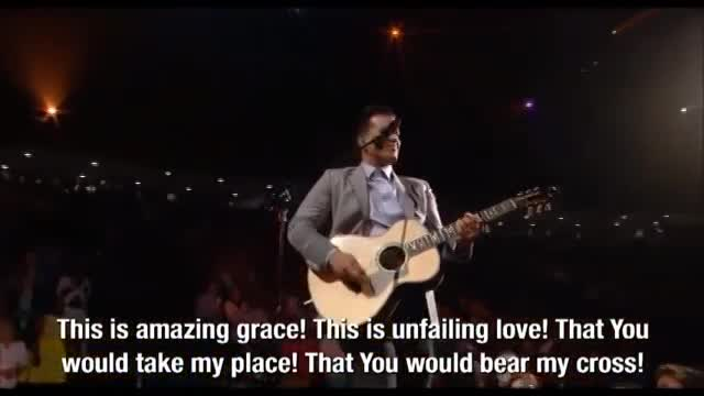 This is Amazing Grace and For the Cross