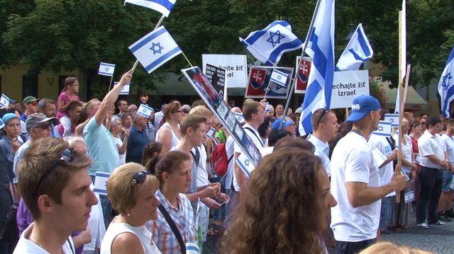 Nechajme Izrael žiť - Bratislava 4.8.2014